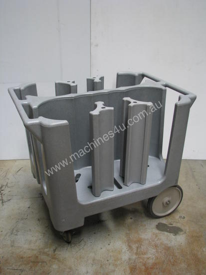 Commercial Catering Kitchen Plate Holder Trolley & Used Ritz Plas Commercial Catering Kitchen Plate Holder Trolley ...