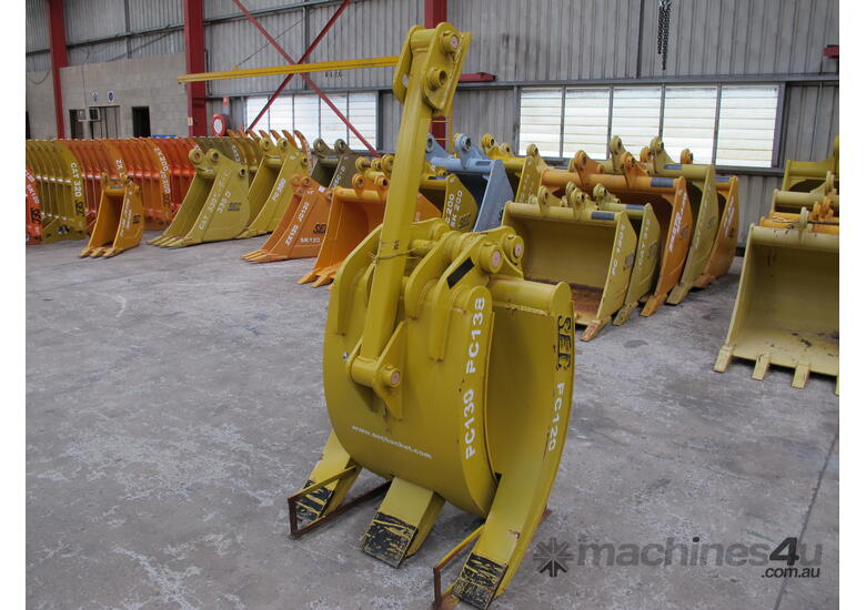 2017 SEC 12ton Mechanical Grapple PC120