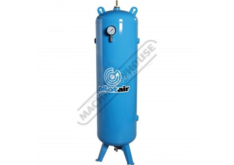 3100300 Industrial Vertical Air Receiver 300 Litre Includes Pressure Gauge