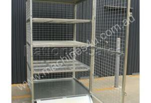 Or  Lockable Shelves Storage Cage