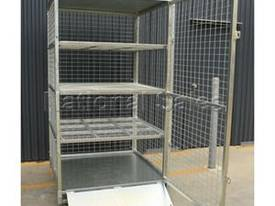 Lockable Shelves Storage Cage