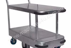 Galvanised Twin Deck Trolley Length 990mm