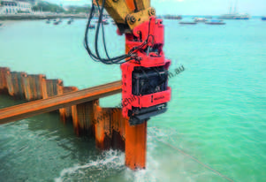 MOVAX ML-15 EXCAVATOR MOUNT PILE DRIVER (7-8T)