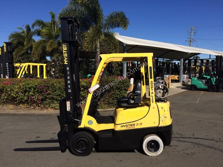 Used 2006 hyster H2 0TX Counterbalance Forklift in , - Listed on