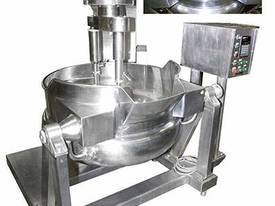 Wok Style SALAD mixer/cooker (steam jacketed)