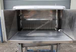 Stainless steel heating/melting cabinet