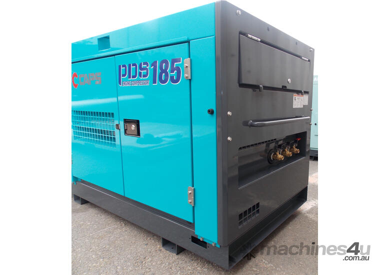 AIRMAN PDS185S-5C5 185cfm Portable Diesel Air Compressor