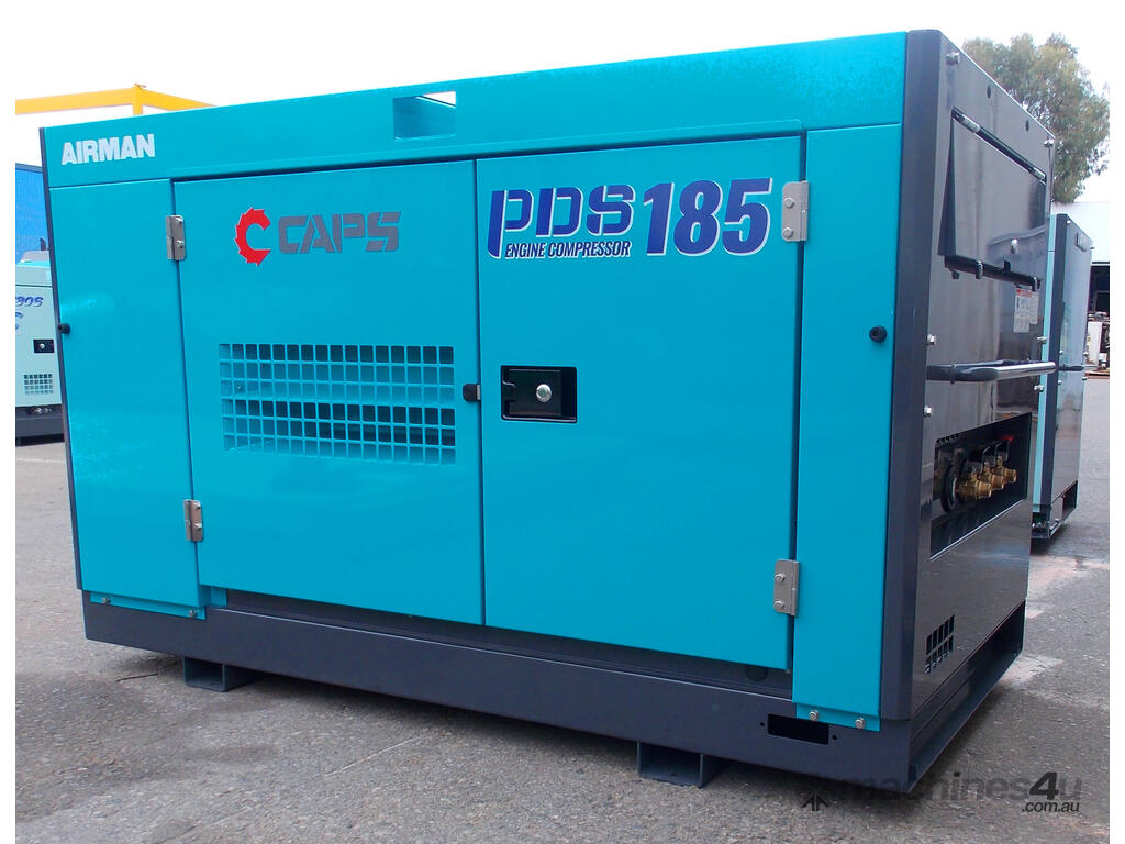 New 2019 airman PDS185S-5C5 Portable Diesel Compressor in