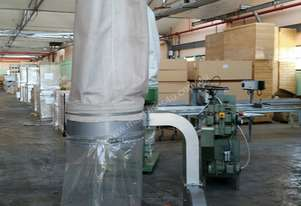 Used  GJ  Wheeler  Single  Bag  Dust  Collector