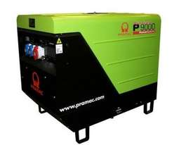 Pramac 8.8kVA Silenced Auto Start Diesel Generator + AMF - picture17' - Click to enlarge