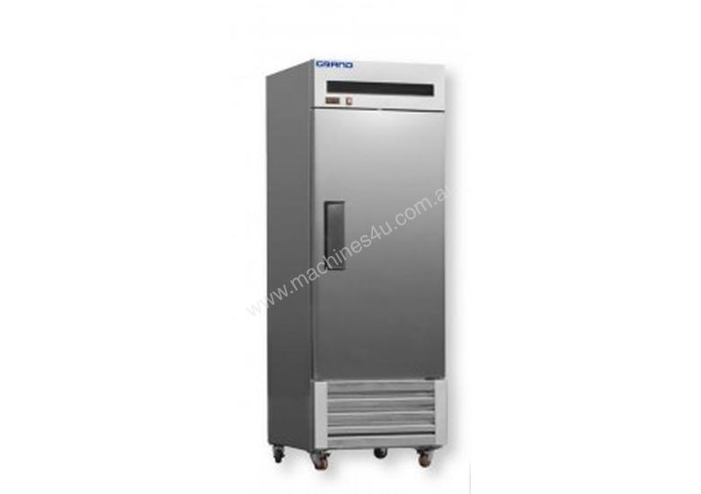 F.E.D. - FED600SC2B - Single Door Stainless Steel Upright Fridge with Bottom Units