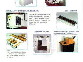 FBV or FBVH Heavy Duty Bed Mills - picture9' - Click to enlarge