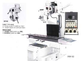 FBV or FBVH Heavy Duty Bed Mills - picture5' - Click to enlarge