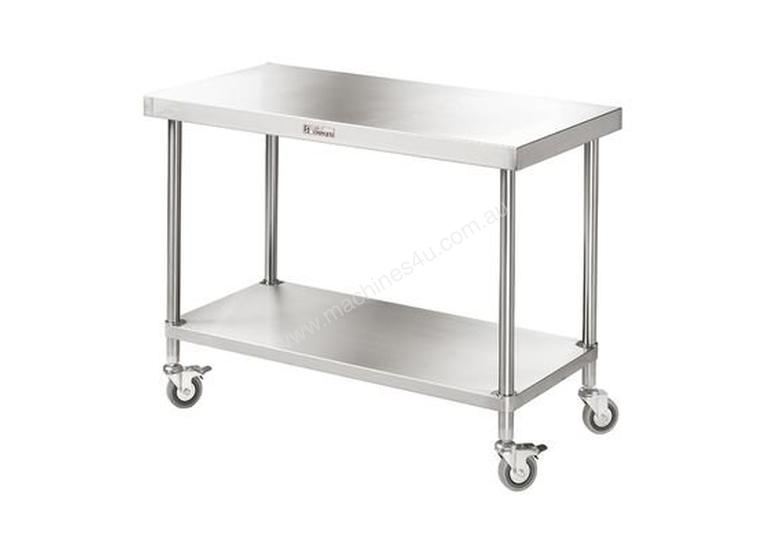 Simply Stainless - Mobile Work Bench 700mm Deep