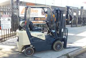 Crown Forklift 1.8 Ton 4500mm Lift Container Entry Mast