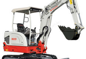 NEW TAKEUCHI TB225 2.4T EXPANDABLE TRACK CONVENTIONAL MINI EXCAVATOR
