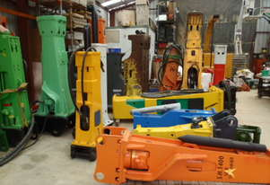 Hydraulic Hammers ALL SIZES FOR SALE or HIRE