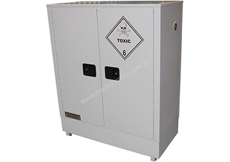 160 Litre Indoor Toxic Substance & Pesticide Storage Cabinet. Made in Australia