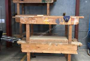 Record Timber work benches
