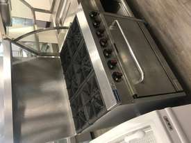 S36(T) - Gasmax 6 Burner with Oven Flame Failure - picture0' - Click to enlarge