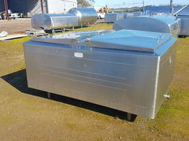 STAINLESS STEEL TANK, MILK VAT 1650 LT - picture0' - Click to enlarge