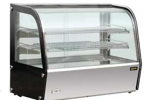 Apuro GC877-A - Heated Countertop Display Cabinet 160Ltr