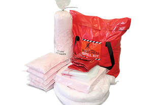 Hazchem Spill Kit. 131L absorbent capacity. Portable canvacon bag. Ideal for trucks & vans