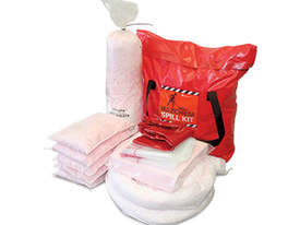 Hazchem Spill Kit. 131L absorbent capacity. Portable canvacon bag. Ideal for trucks & vans - picture0' - Click to enlarge