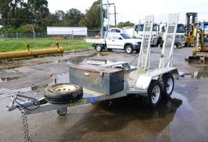 2016 Coastmac Tandem Axle Plant Trailer with Ramps IN AUCTION