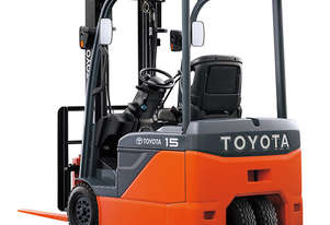 Toyota 1.0 - 2.0 Tonne 8FBE 3-Wheel Battery Forklift