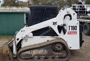 Used Bobcat T190 2007 with 4200 Hours