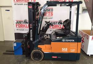 TOYOTA 7FBE15 4300MM 2372 D/L HOURS