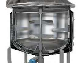 Jacketed 2000L Cooker Kettle (Contra Rotating) 316 - picture1' - Click to enlarge