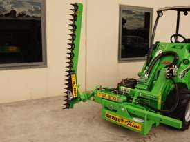 Avant 528 Articulated Loader W/ Slanetrac SA800 Hedge trimmer - picture0' - Click to enlarge