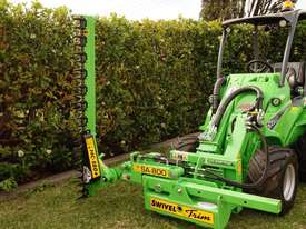 Avant 528 Articulated Loader W/ Slanetrac SA800 Hedge trimmer - picture17' - Click to enlarge