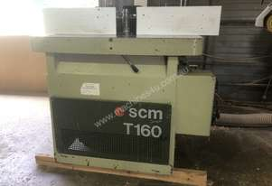 SCM T160 Spindle Moulder With Power Feed