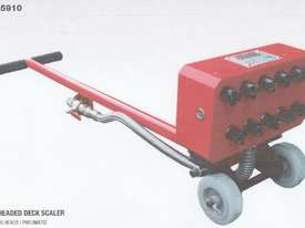 Pneumatic Deck Scaler - picture0' - Click to enlarge