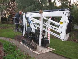 PB1890 - 18m Crawler Mounted Spider Lift - picture0' - Click to enlarge