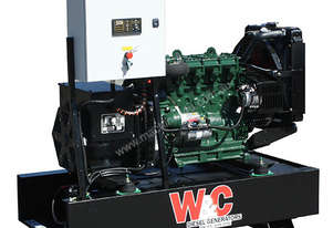 20kVA, Three Phase, Lister Petter Open Standby Generator