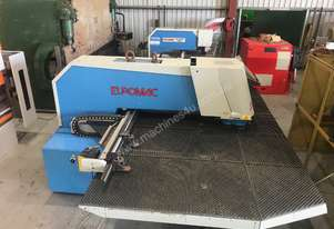 USED Euromac 1250/30 MTX CNC Punching Machine