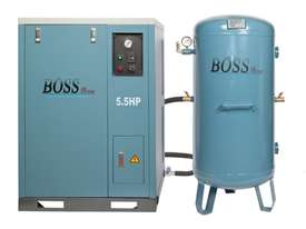 BOSS 25CFM/ 5.5HP Silent Air Compressor with 220L Tank  - picture0' - Click to enlarge