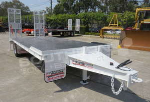 Interstate Trailers Custom White 11 Ton Tag Trailer ATTTAG
