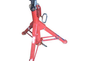 Pipe Stand Welders Height Adjustable Tristand Heavy Duty Foldable and Compact
