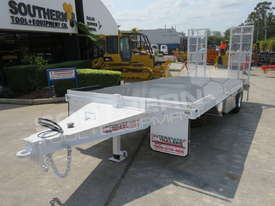 Single Axle Tag Trailer 11 Ton Custom White ATTTAG - picture0' - Click to enlarge