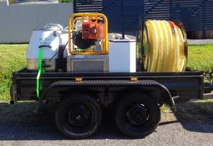 Trailer Mounted Industrial Vacuum Cleaner