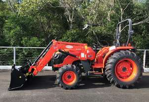 Kubota MX5100D with McCormack FA45 4in1 Loader