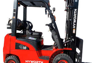 Hyworth 1.8T Gas Forklift for HIRE