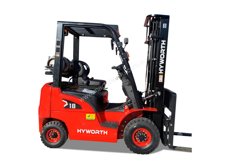Hyworth 1.8T Gas Forklift for HIRE from $200pw + GST