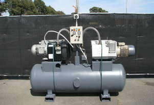 Large Twin Double Vacuum Pump Tank System - 750L