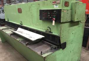 Used - S&E - Guillotine - 3m x 6mm